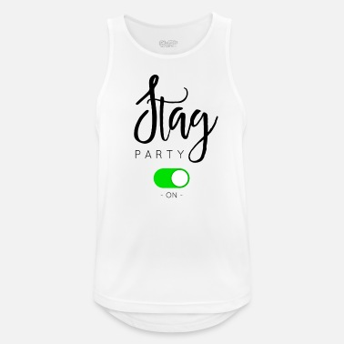 Stag Party STAG PARTY - Men's Breathable Tank Top