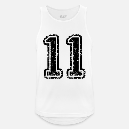 Sport Tank Tops - 11 - Men's Sport Tank Top white