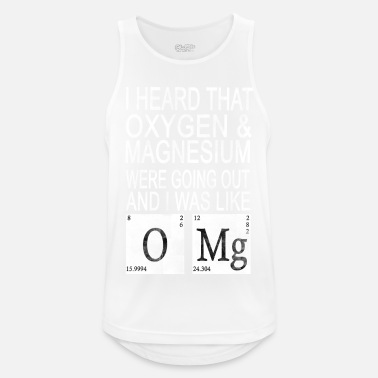 Sector I heard Oxygen and Magnesium WERE GOING Out - Men's Sport Tank Top