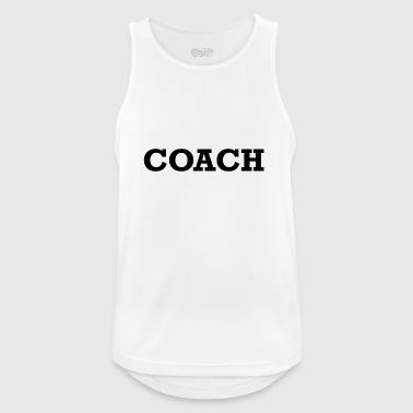COACH - Pustende singlet for menn