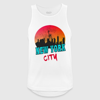 New-york-city New York City / New York / USA / Gift - Men's Breathable Tank Top