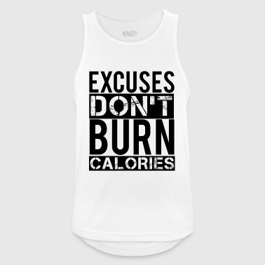 Excuses - Men's Breathable Tank Top