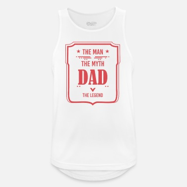 Fathers Day Father's Day Father's Day gift - Men's Breathable Tank Top
