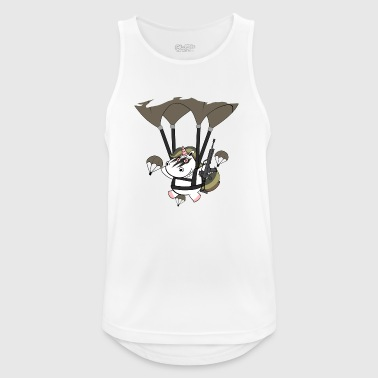 Bundeswehr Paratrooper Bundeswehr unicorn - Men's Breathable Tank Top