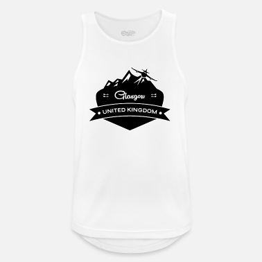 Glasgow Glasgow United Kingdom - Men's Breathable Tank Top