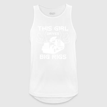 I drive big cars - Men's Breathable Tank Top