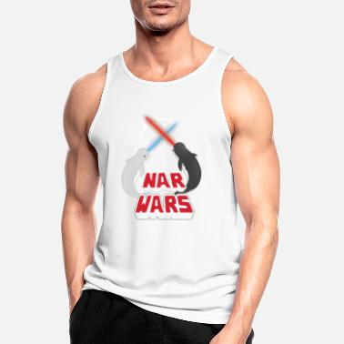 Narwhal Nar Wars - Narwhal narwhal parody - Men's Sport Tank Top