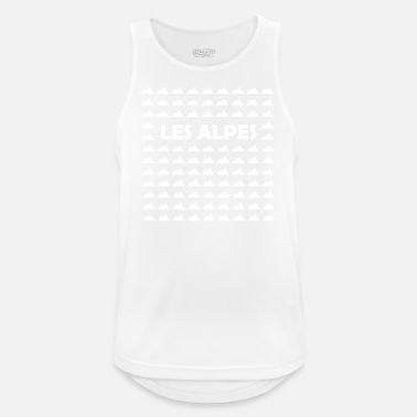 Alps The Alps - Men's Breathable Tank Top