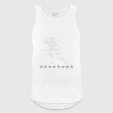 Bundeswehr Panzergrenadier Bundeswehr Proverbs - Men's Breathable Tank Top