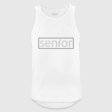 Senior - Men's Breathable Tank Top