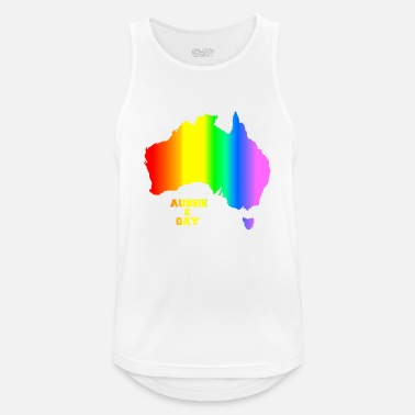 GAY AUSSIE - Men's Breathable Tank Top