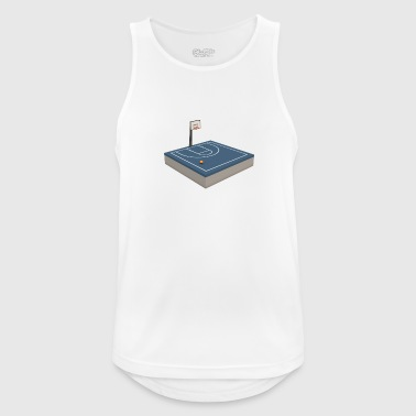 Basketball court - Men's Breathable Tank Top