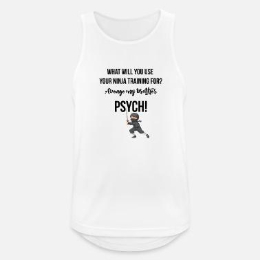 Hämnare Vad kommer du att använda din ninja träning för  - Sporttanktopp  herr 07d67beaa0483