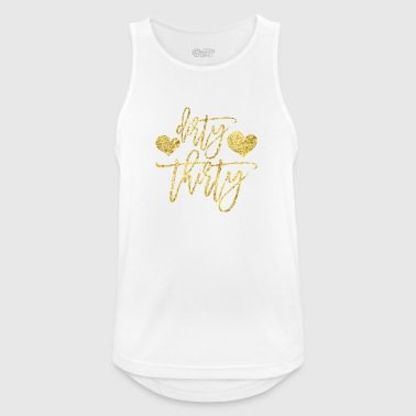 Dirty Thirty - Birthday Gift - Men's Breathable Tank Top