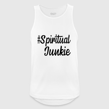 # Spiritual junkie - Men's Breathable Tank Top