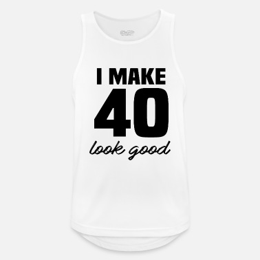 40th Birthday 40th birthday - Men's Sport Tank Top
