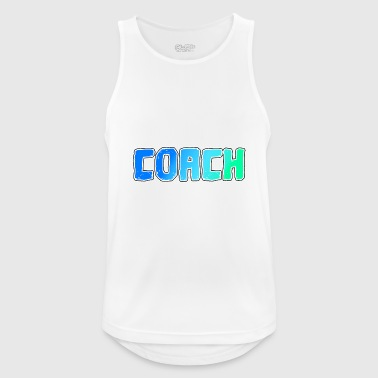 Coach Coach Coach Coach Trainer Coach - Men's Breathable Tank Top