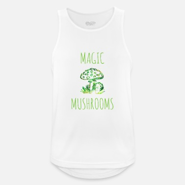 Magic Mushrooms Magic mushrooms Magic mushrooms Fly mushrooms - Men's Sport Tank Top