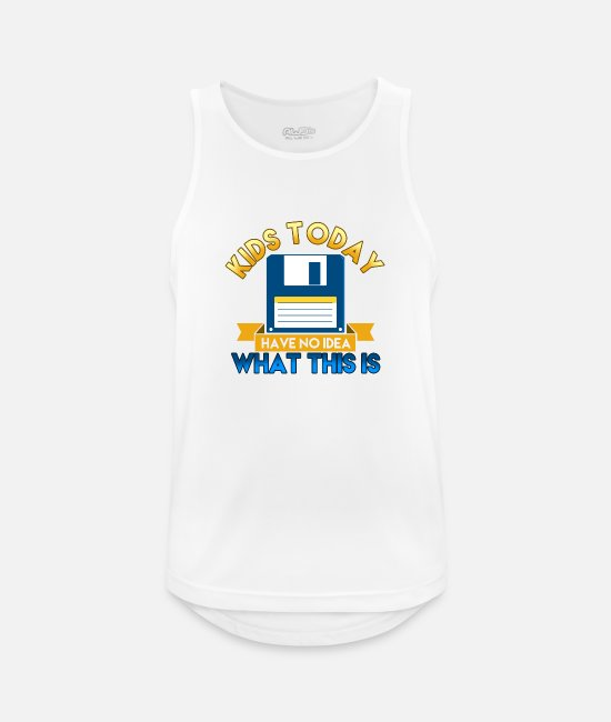 New Tank Tops - Kids Today - Men's Sport Tank Top white