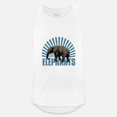 Mammal Elephant - mammal - Men's Breathable Tank Top