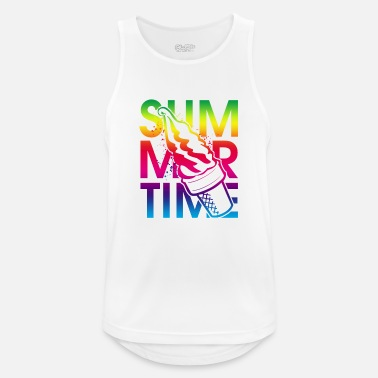 Ice Summer time ice cream - Men's Sport Tank Top
