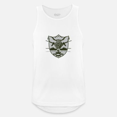 Military military - Men's Breathable Tank Top