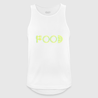 Food - Men's Breathable Tank Top