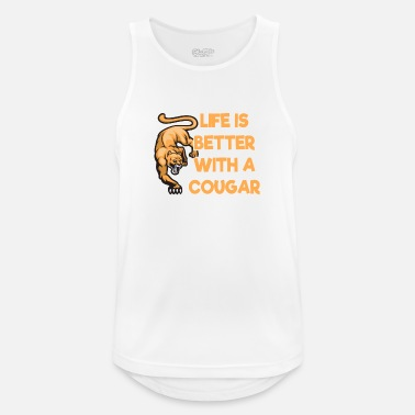Cougar cougar shirt - Men's Breathable Tank Top