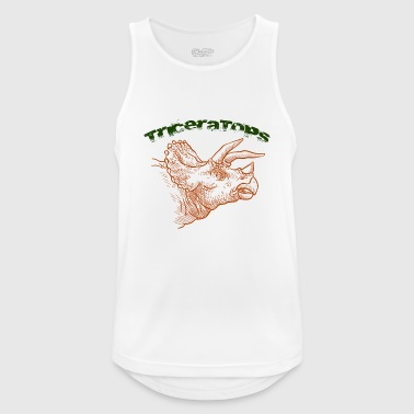 Triceratops Triceratops - Men's Breathable Tank Top