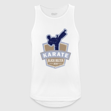Karate karate - Pustende singlet for menn