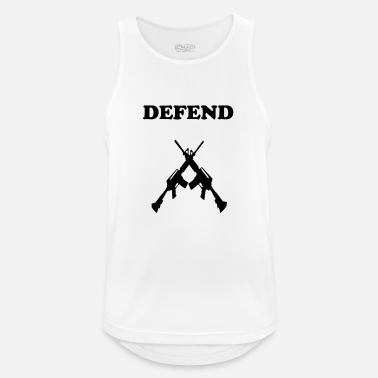 Assault Rifle Defend assault rifle protection - Men's Breathable Tank Top