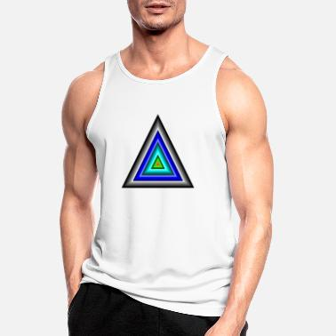 Triangle Triangles in triangle - Men's Sport Tank Top