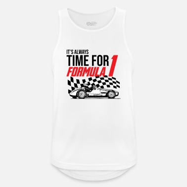 It's Always Time For Formula 1 - Mannen sport tank top