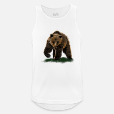 Suportar bear - Men's Sport Tank Top