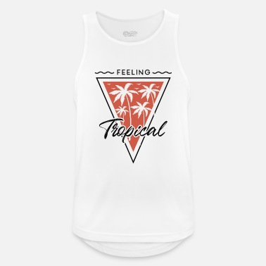Tropical Feel Tropical - Tropical - Men's Sport Tank Top