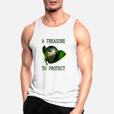 A Treasure to Protect (our Planet) - Männer Sport Tanktop