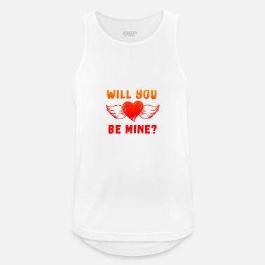 Will you be mine? - Men's Sport Tank Top