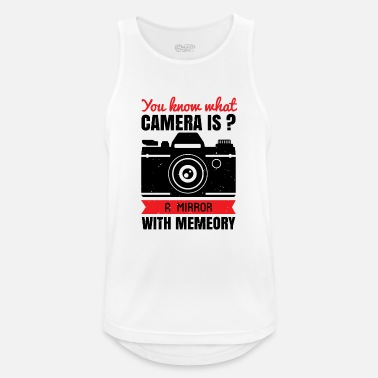 Cameraman You know what camera is - Men's Sport Tank Top