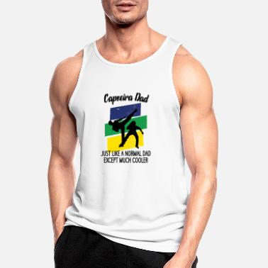 Jul Capoeira far - Sports tanktop mænd