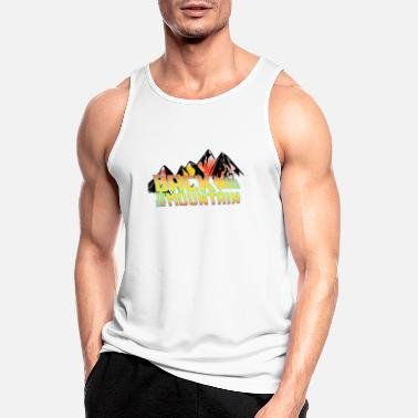 Back to the Mountain Gift for Hikers - Men's Sport Tank Top