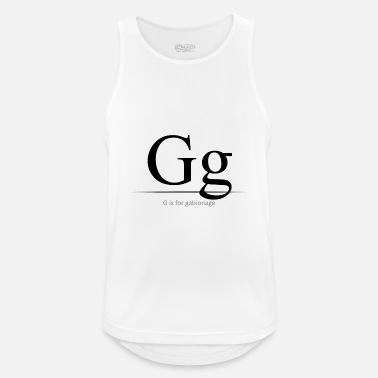 Bursdag G er for - Sports tanktop mænd