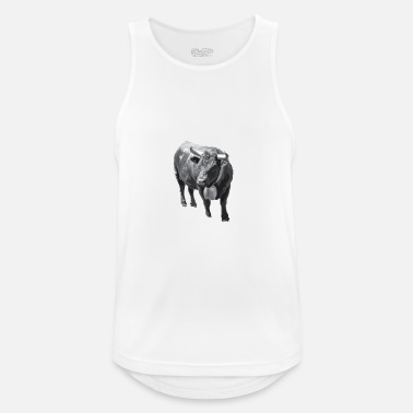 Canton Cow of the Hérens in the canton of Valais - Men's Sport Tank Top