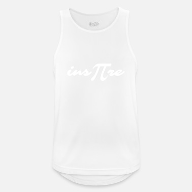 Pi inspire - Pi Day - white - Men's Sport Tank Top