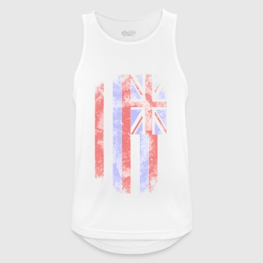 Hawaii Flag - Vintage Look - Männer Tank Top atmungsaktiv