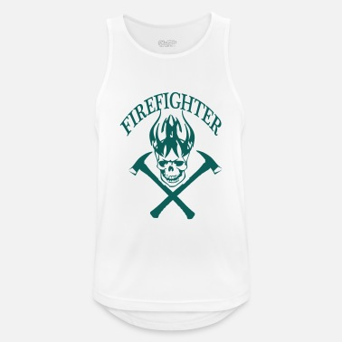 Fire Fighter fire fighter - Men's Sport Tank Top
