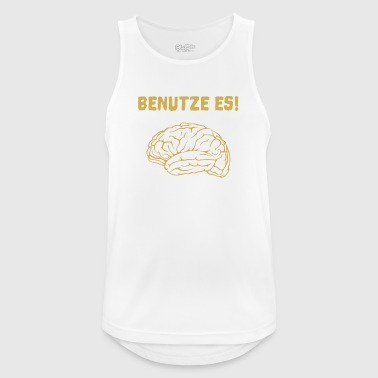 brain - Men's Breathable Tank Top