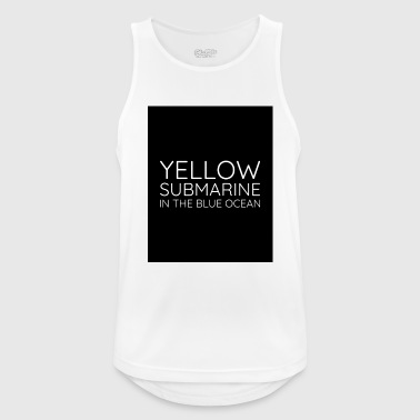 Yellow - Men's Breathable Tank Top