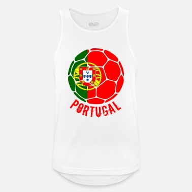 Portugal PORTUGAL football fan - Men's Breathable Tank Top
