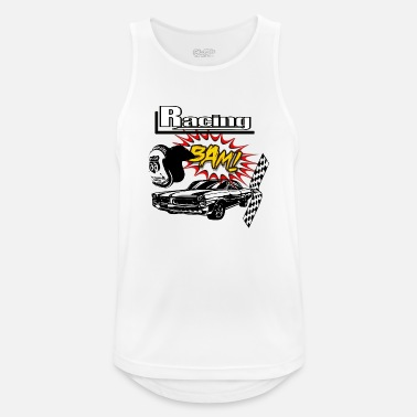 Muscle Car Muscle car car race - Men's Sport Tank Top