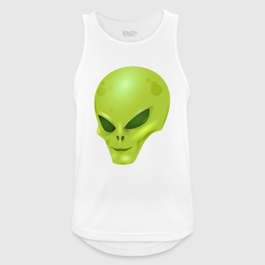 Alien extraterrestrial scifi - Men's Breathable Tank Top